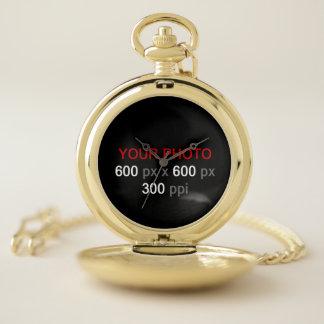 Cree su propio reloj de bolsillo de encargo de la