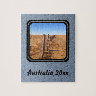 Cree su propio rompecabezas - desierto australiano