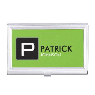 cree su propio verde, atractivo y moderno cajas de tarjetas de visita