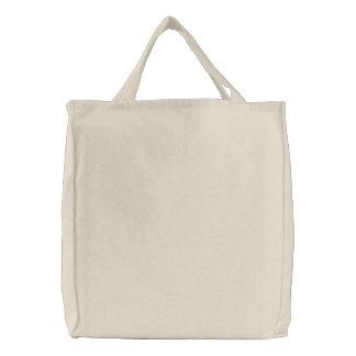 Cree sus los propios bolsa de tela bordada
