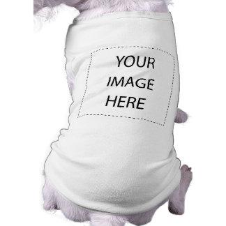 Cree sus los propios camiseta sin mangas para perro