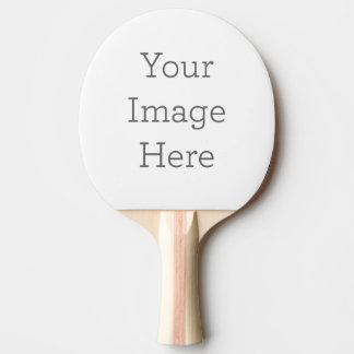 Cree sus los propios pala de ping pong