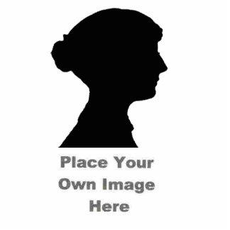 Cree un Pin de la escultura de la foto Chapa Fotoescultura