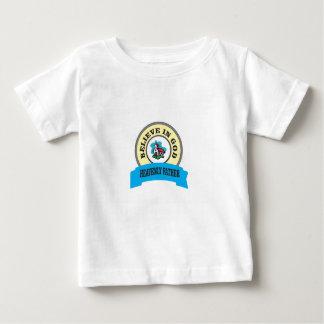 creencia de dios de la iglesia camiseta de bebé