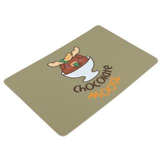 Crema batida de los alces del chocolate alfombra