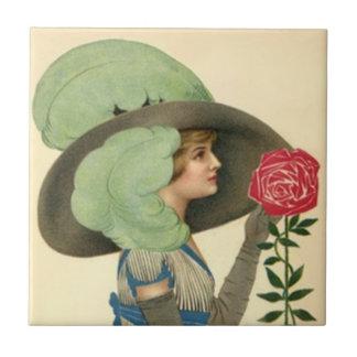 Crema envejecida teja de la moda del rosa del