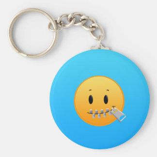 Cremallera Emoji Llavero