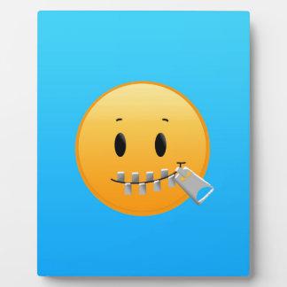 Cremallera Emoji Placa Expositora