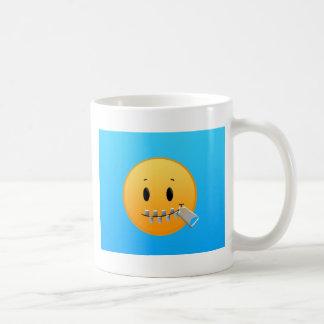 Cremallera Emoji Taza De Café