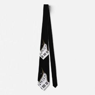 Cremalleras del músico corbata personalizada