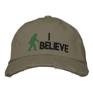 "Creo el logotipo de Bigfoot del *large "" Gorra De Beisbol"