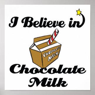 creo en chocolate caliente impresiones