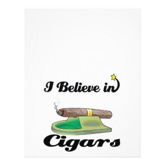 creo en cigarros folleto 21,6 x 28 cm