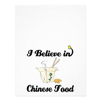 creo en comida china tarjetón