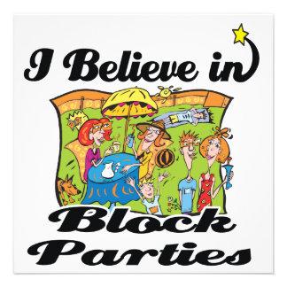creo en fiestas de barrio invitaciones personales