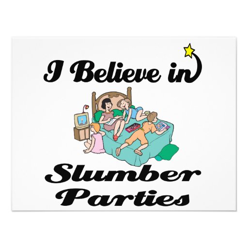 creo en fiestas de pijamas comunicados