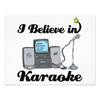creo en Karaoke Comunicados Personales
