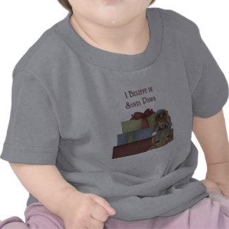 Creo en las patas de Santa Camiseta