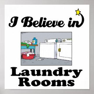 creo en lavaderos posters