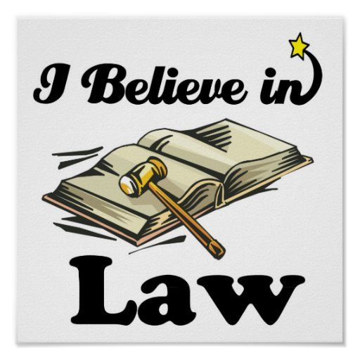 creo en ley poster