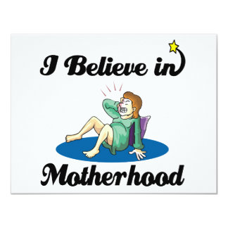 creo en maternidad anuncio personalizado