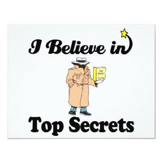 creo en máximos secretos comunicados personalizados