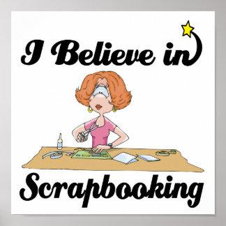 creo en scrapbooking posters