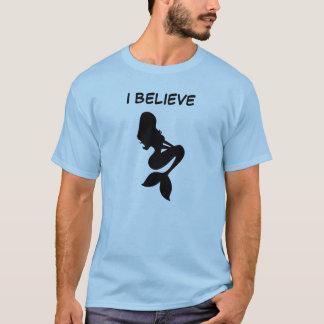 Creo en sirenas camiseta