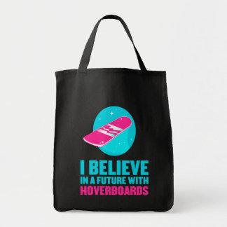 Creo en un futuro con hoverboards bolsa tela para la compra