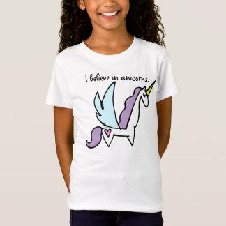 Creo en unicornios camiseta