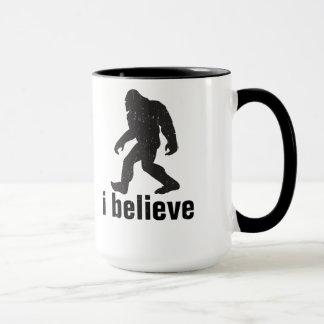 Creo - la silueta negra taza