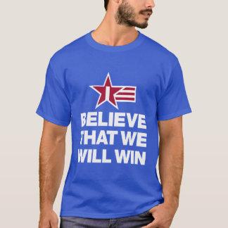 Creo que ganaremos la camiseta de los hombres del