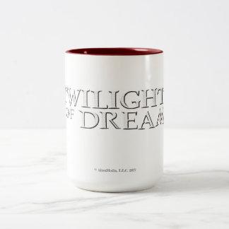 Crepúsculo de la taza del Dos-Tono de los sueños
