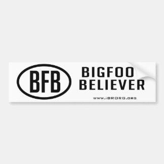 Creyente de Bigfoot Pegatina Para Coche