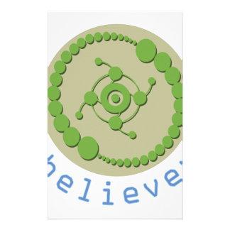 Creyente del círculo de la cosecha papeleria de diseño