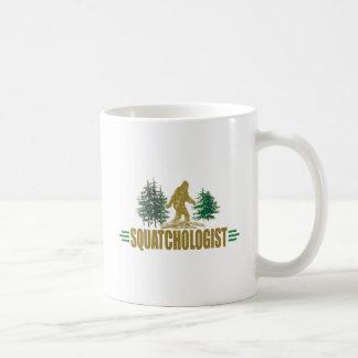 Creyente divertido de Squatchologit el | Sasquatch Taza De Café