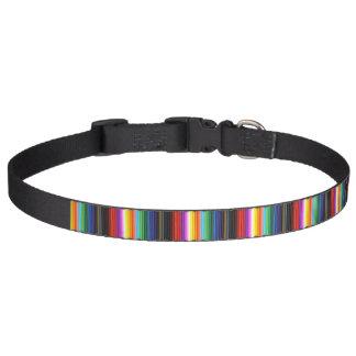 Creyones multicolores del lápiz del color collar para perro