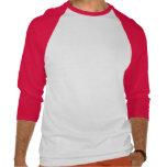 Crezca la seta roja Powerup Camiseta
