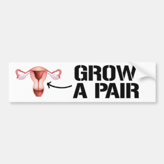 Crezca un par de ovarios - la pegatina para el