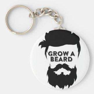 Crezca una barba entonces que hablaremos llavero