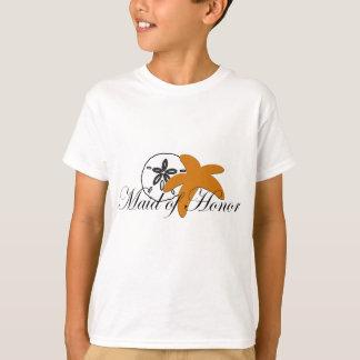 Criada de las estrellas de mar del dólar de arena camiseta