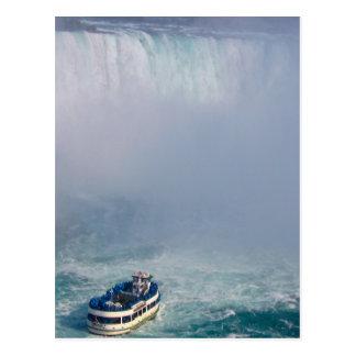 Criada del arco iris Niagara Falls, Canadá de la Postal
