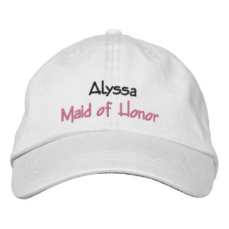 Criada del nombre y del papel de encargo del gorra