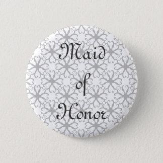 Criada estilizada de la flor del botón del honor