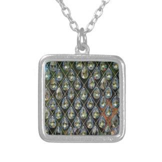 Cristal Collar Plateado