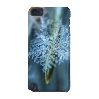Cristal de hielo, invierno, nieve, naturaleza funda para iPod touch 5
