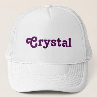 Cristal del gorra