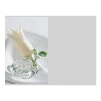Cristal del tulipán postal