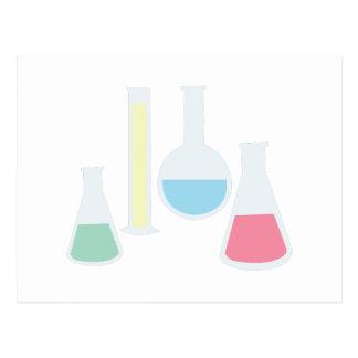 Cristalería de la química postal