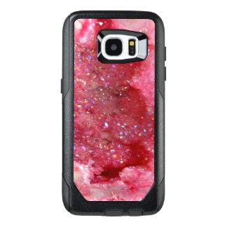 Cristales rosados del Faerie de Falln Funda OtterBox Para Samsung Galaxy S7 Edge